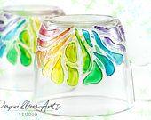 Rainbow mug Wife birthday gift Gift for women Bridesmaid gift Gift for sister Girlfriend gift