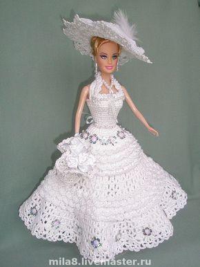 Одежда для куклы Наряд для невесты