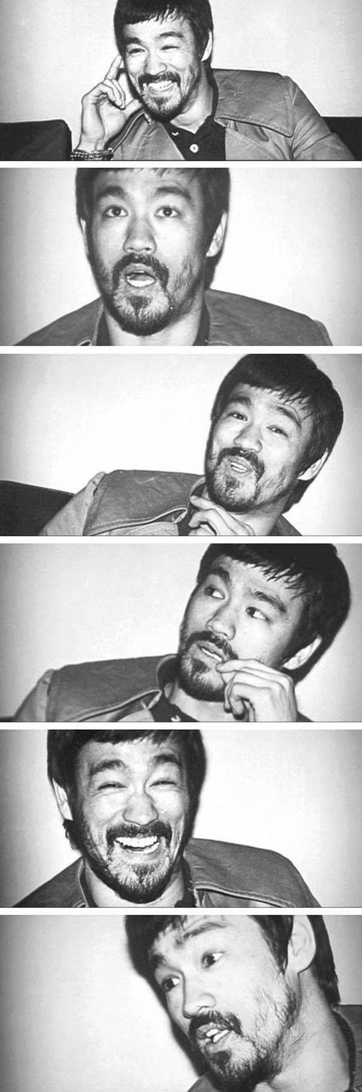 Bruce Lee. Loving the beard!