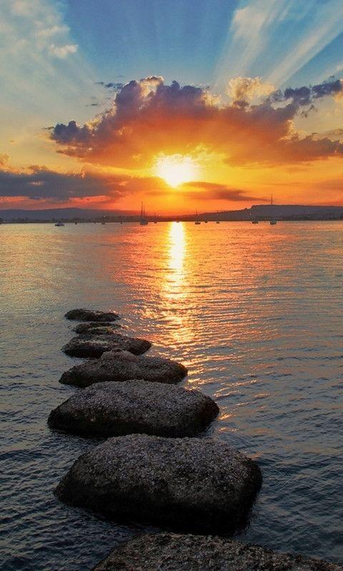 Citaten Over Zonsondergang : Beste ideeën over zonsondergang schilderijen op