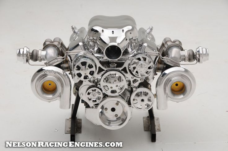 428 Small Block Ford Twin Turbo  Nelson Racing Engines