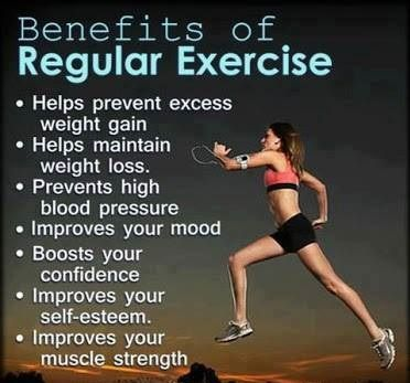 Regular physical activity improves cardiorespiratory and muscular fitness, reduces stress and improves your overall quality of life. #exercise #beauty #skin #workout #healthcare #weightloss #weightcontrol #fat