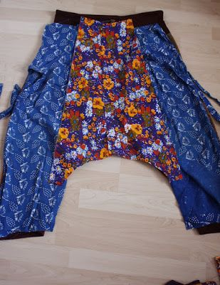 from now till then and in between: harem pants pattern