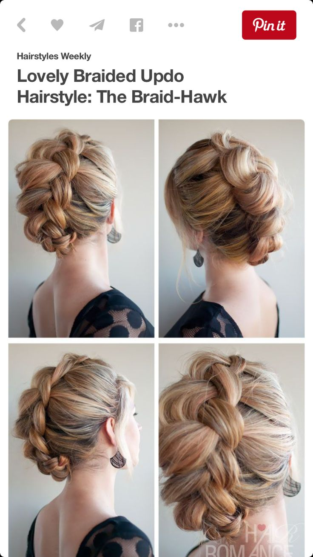 best peinados images on pinterest hair dos hair styles