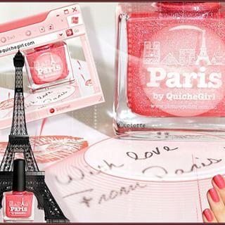 """Concours """"La Quiche Girl"""" sur """"Paris Reborn"""" son vernis en collaboration avec Picture Polish"""