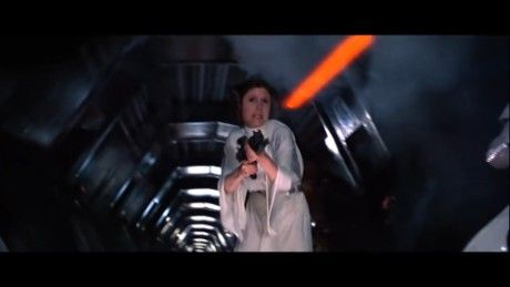 The actress who played Princess Leia has had many humorous public appearances.