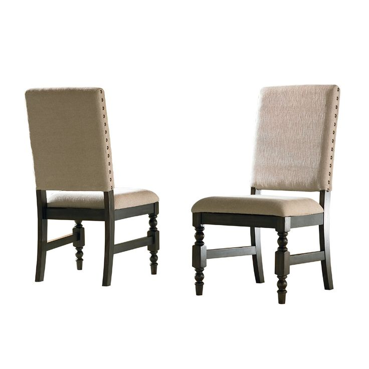 Shop Steve Silver Company LY500S Leona Side Dining Chair (Set Of 2) At ATG