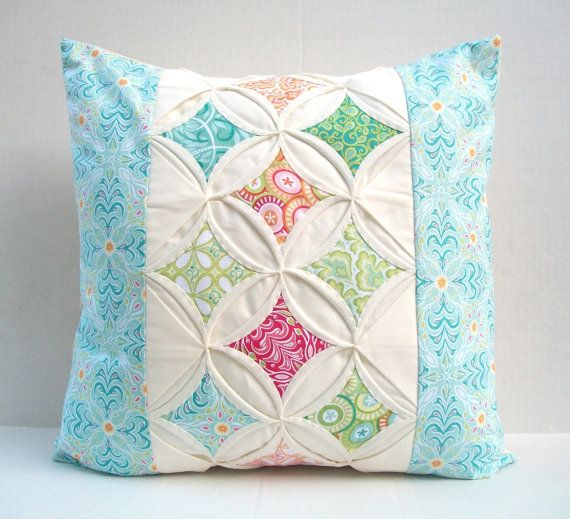 sample cathedral window quilt idea