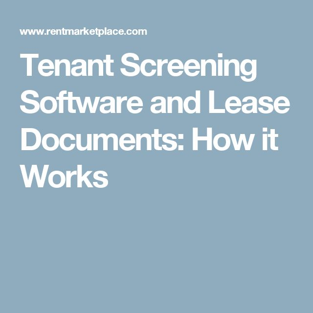 Best  Tenant Credit Check Ideas On   Hunting Leases