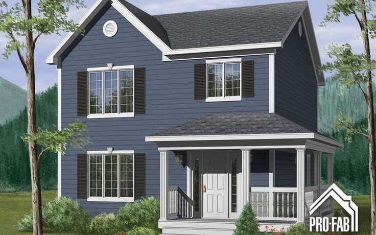 Beauceronne Maison modulaire à vendre | Pro-Fab