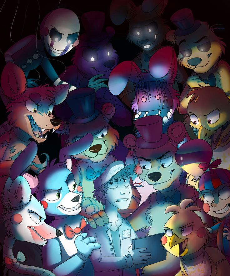 54 Best Five Nights At Freddy's Images On Pinterest