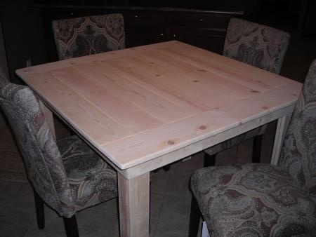 Kitchen Table DIY