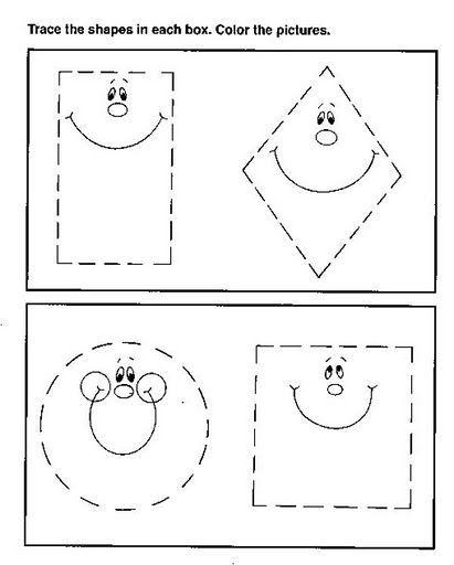 Resultado de imagen para figuras geometricas preescolar para imprimir More