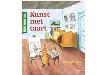 Kerst 2015 orignieel prentenboek 'Kunst met taart' Lannoo | kinderen-shop Kleine Zebra