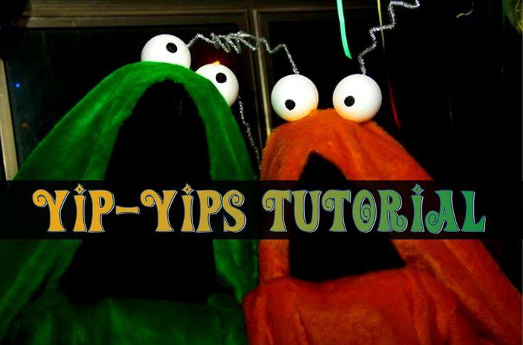 YIP YIPS Costume - Tutorial - YouTube