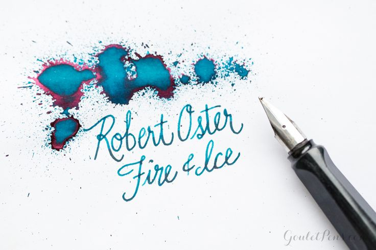 Goulet Pens Blog: Robert Oster Fire & Ice: Ink Review