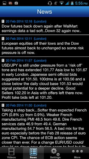 The FOREX TV App is a real-time push notification service designed to notify you as soon as we publish a technical video alert, breaking economic news headlines or bank level flow of information so that you can view them instantly on your mobile device.<br> <br>The service is ideal for both new and experienced traders who want a technical yet rounded view on the markets, but with the extra heads up from the banks' trading desks.<br> <br>Our growing team of analysts around the world have…