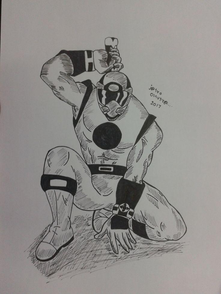 dibujo de power ranger