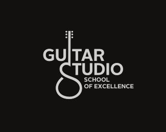 #guitar logo #logo