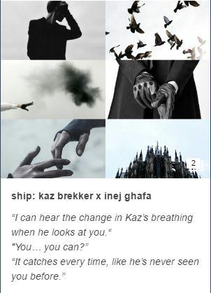 ♡☼Nina to Inej about Kaz ☼♡