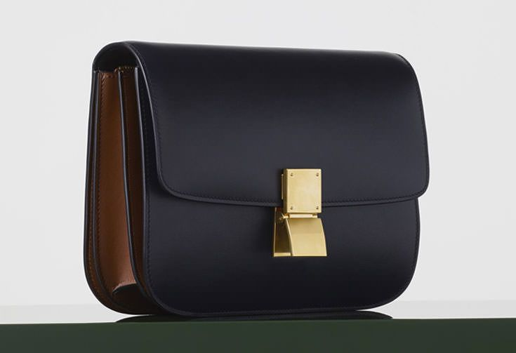 Celine-Medium-Classic-Box-Bag-Bicolor | Handbags, Purses, Luggage ...