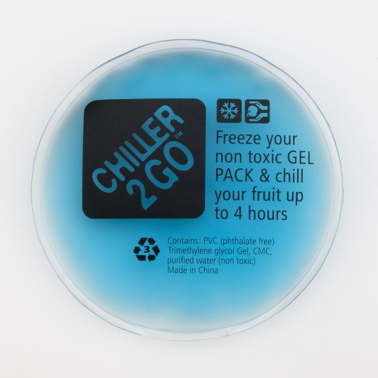 Chiller2Go non toxic gel pack