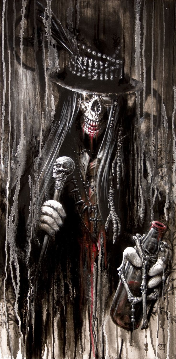 Baron Samedi by Stelf-2014 on DeviantArt