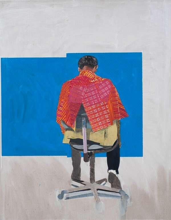 Hurvin Anderson, Peter's Sitters 2 (2009)