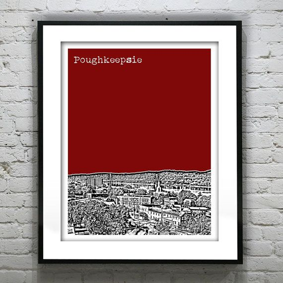 Hey, I found this really awesome Etsy listing at https://www.etsy.com/listing/167541047/poughkeepsie-new-york-poster-print-art