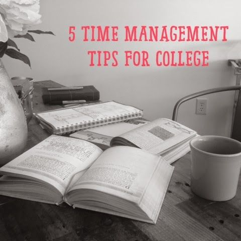 5 Time Management Tips for College