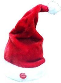 Danseden Noel Şapka, Müzikli Parti Hediyeleri - Özel Gün Hediyeleri Düğmesine basınca noel şarkıları çalan ve dans eden şapka. İster başınıza takın ister eğlenceli bir dekor olarak masaya koyun!  3 adet kalem pille çalışır, piller fiyata dahil değildir.