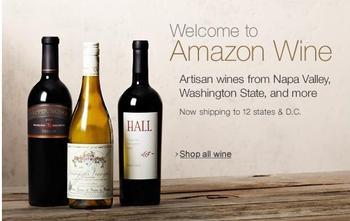 Amazon.com Opens Online Wine Shop