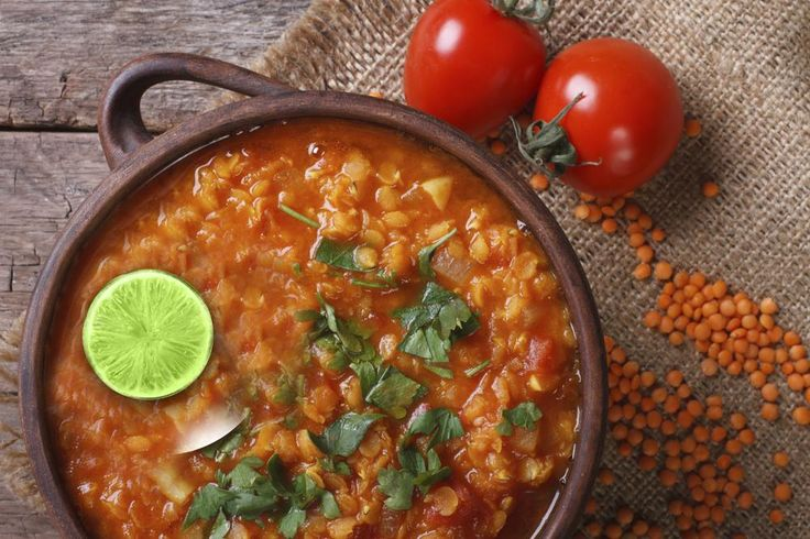 Lentils are rich in dietary fibre and a great source of protein. Try this spicy soup tonight!