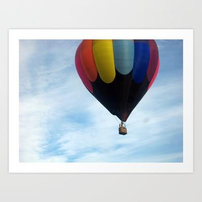 HOT AIR BALLOON Art Print by Diane Perkins Photography - $16.00