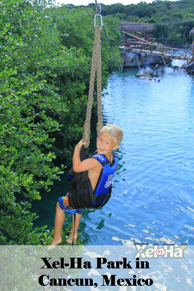 Family Fun in Cancun, Mexico.  Travelling with kids to Xel-ha Park - the must sees you don't want to miss.