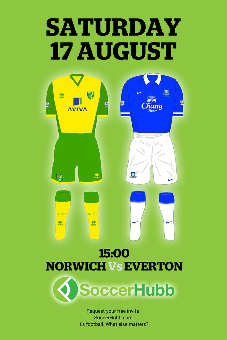 Norwich FC v Everton FC  http://www.SoccerHubb.com