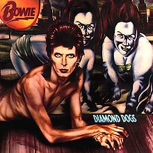 Diamond Dogs is a concept album, and the eighth studio album by David Bowie, originally released in 1974