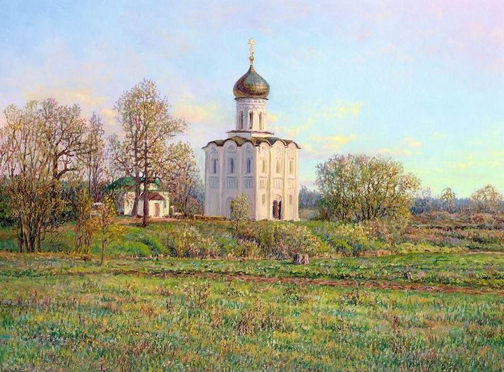 Russian expanses: Beauteous painting by the artist Sergey Panin - 11