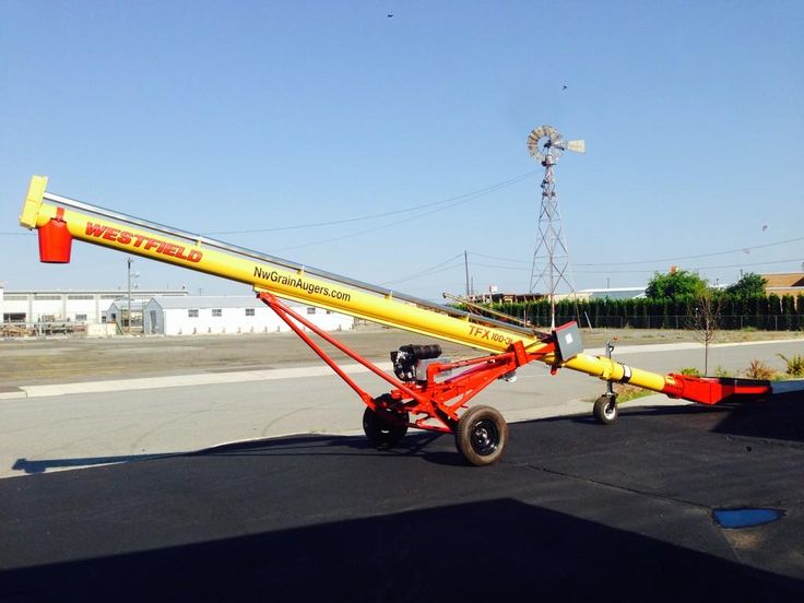 Westfield's TFX2 grain auger going to the Palouse for a happy farmer.