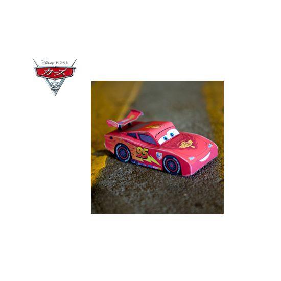 カーズ ライトニング・マックィーン 3Dペーパークラフト|ダウンロード|ディズニーキッズ