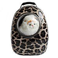 Gatto / Cane Trasportini e cucce da viaggio / Astronauta Capsula Carrier Animali domestici Supporto Portatile / Leopardo / ZebratoNero /
