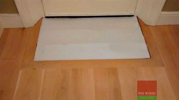 Integrated Doormat In Wooden Flooring Craftmanship 5