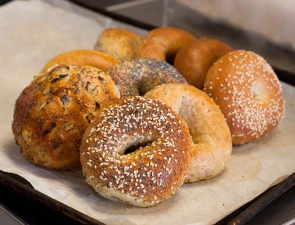 Best bagels in Toronto can be found here at Gryfe's on Bathurst