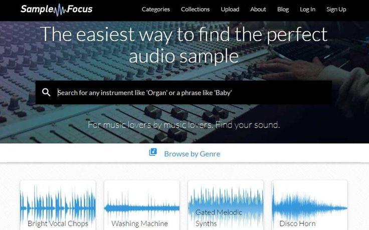 Sample Focus un enorme banco de sonidos para descargar