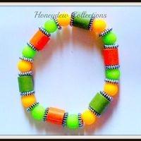 Colorful Paper Bracelet $5