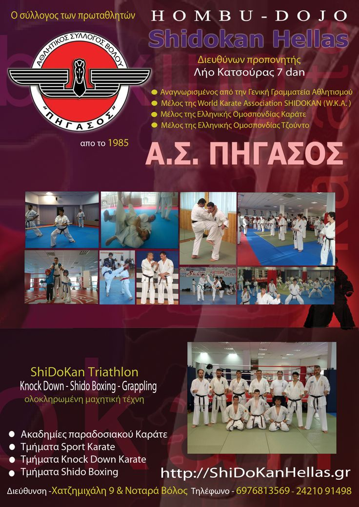 SHIDOKAN ΚΑΡΑΤΕ ΕΛΛΑΣ http://shidokanhellas.gr/