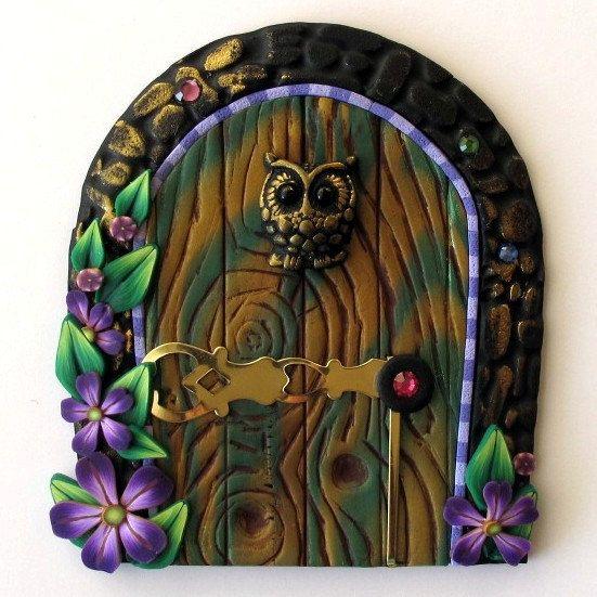 116 best images about portes de f es door fairy on for Fairy door wall art