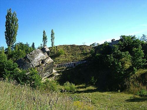 ruiny niemieckich bunkrow z II wojny/german bunkers ruins from WWII