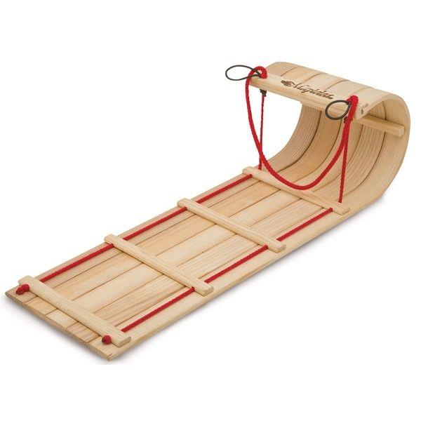 Wooden Toboggan