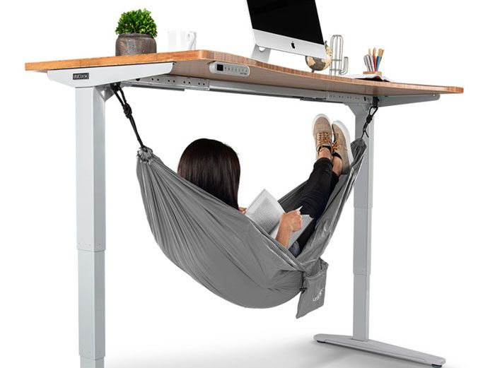 This 55 Under Desk Hammock Lets Employees Take The Most Chill